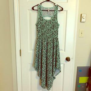 NWOT Target maxi summer dress Mint Green